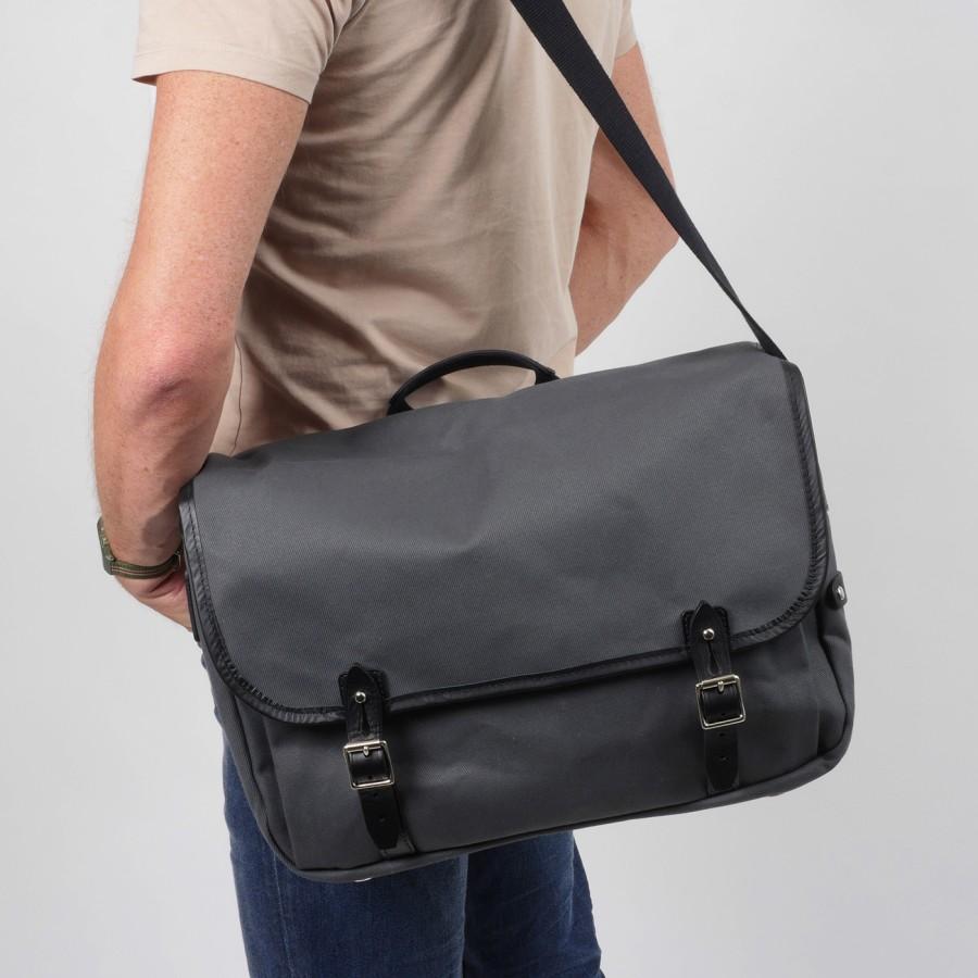 Brompton Game Bag Medium, Smoke Grey