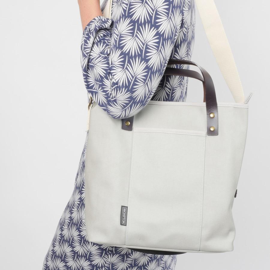 Brompton Tote Bag, Grey