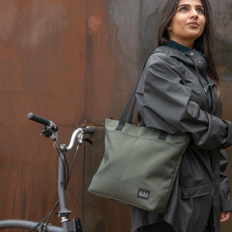 Brompton Tote Bag, Olive