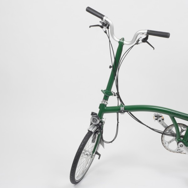 Brompton Faltrad H6RD in Racing Green Freisteller