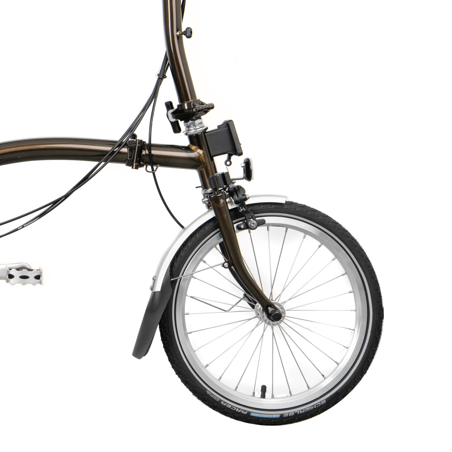 Brompton M-Typ, Black Lacquer