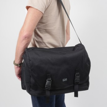 Brompton Metro Messenger Bag Large, Black